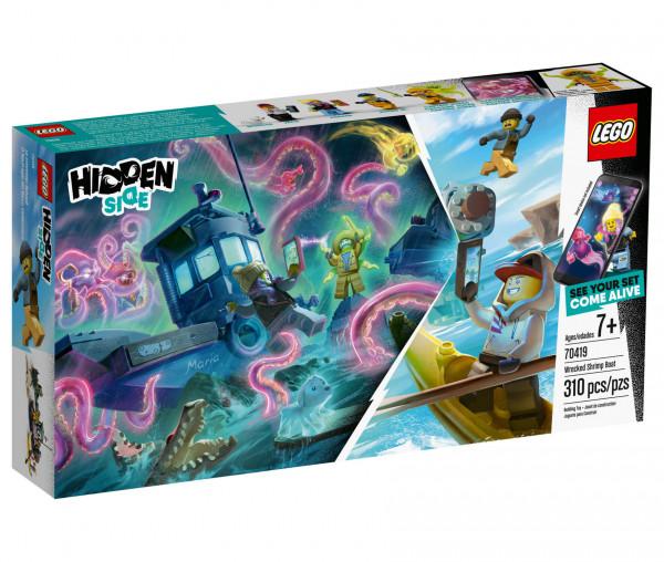70419 LEGO® Hidden Side™ Gekenterter Garnelenkutter