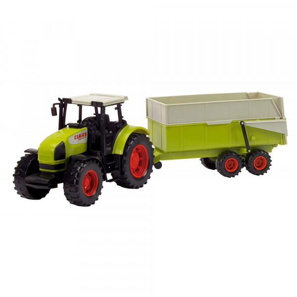 Dickie Toys Claas Ares Set - Traktor mit Kipper