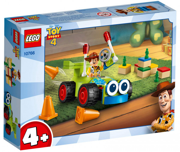 10766 LEGO® 4+ Woody & Turbo