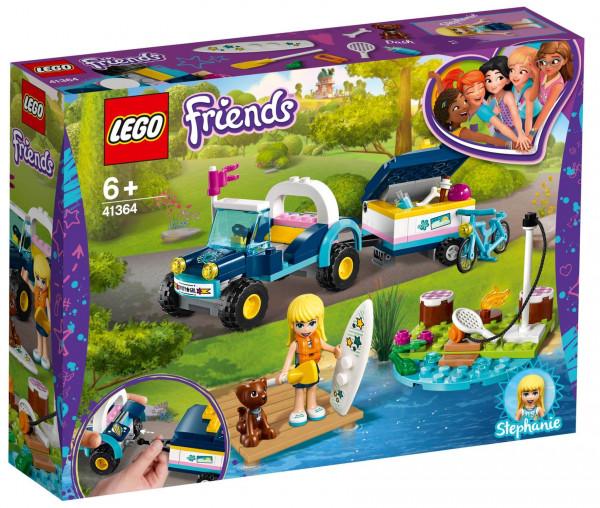 41364 LEGO® Friends Stephanies Cabrio mit Anhänger