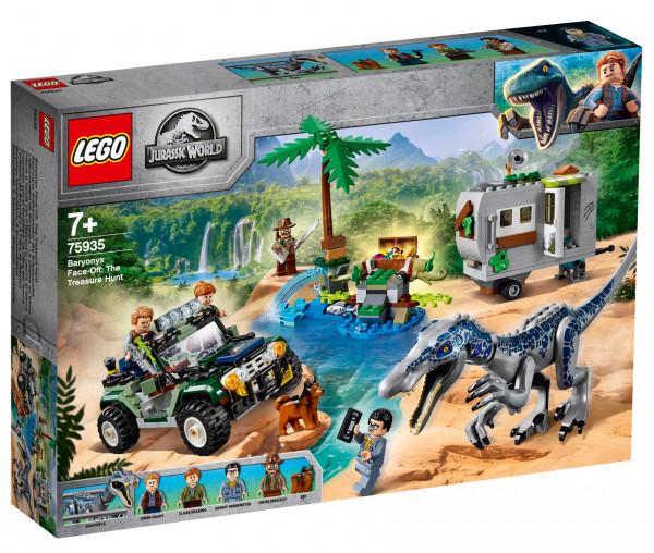 75935 LEGO® Jurassic World™ Baryonyx' Kräftemessen: die Schatzsuche