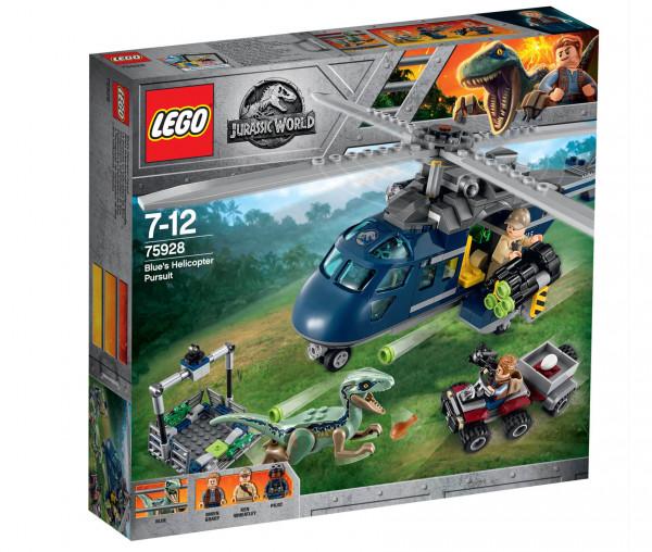 75928 LEGO® Jurassic World™ Blue's Hubschrauber-Verfolgungsjagd