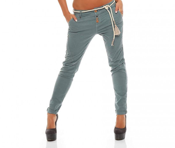 Eight2Nine Damen Five- Pocket Hose