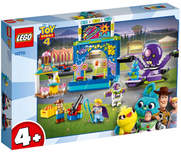 10770 LEGO® 4+ Toy Story 4 Buzz & Woodys Jahrmarktspaß!