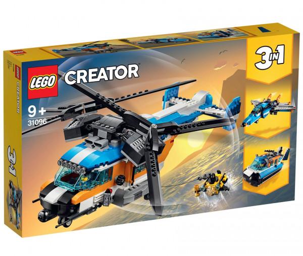 31096 LEGO® Creator Doppelrotor-Hubschrauber