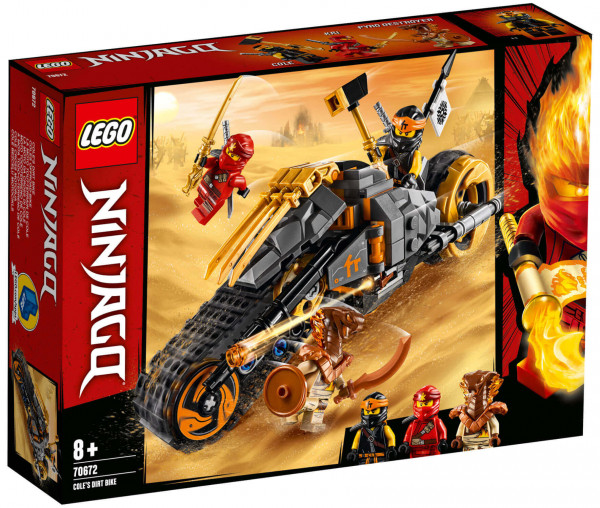 70672 LEGO® NINJAGO® Coles Offroad-Bike