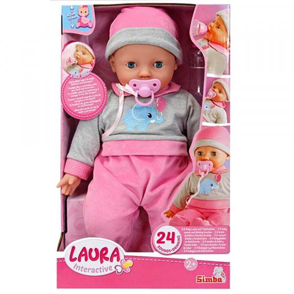 Simba Puppe Laura Interactive