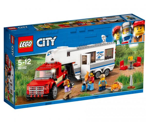 60182 LEGO® City Pickup & Wohnwagen