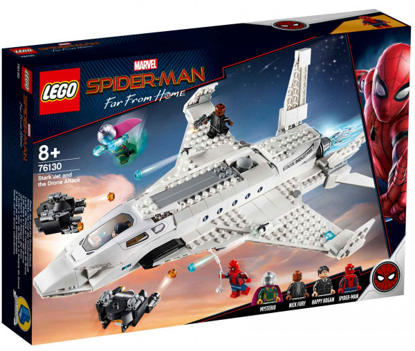 76130 LEGO® Marvel Super Heroes Starks Jet und der Drohnenangriff