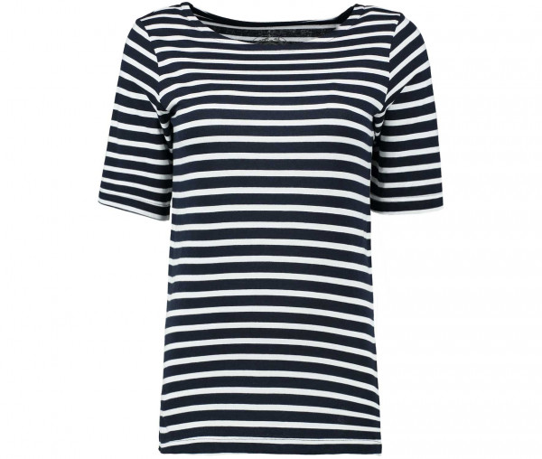 Julia Brown Damen T-Shirt gestreift