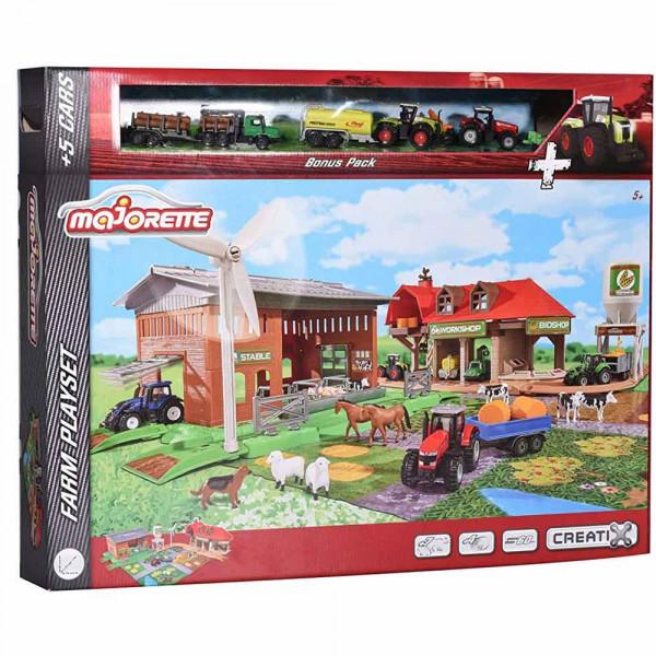 Majorette 212050009 - Creatix Big Farm Set