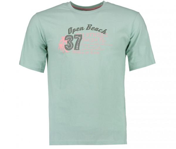 Tony Brown Herren T-Shirt Open Beach