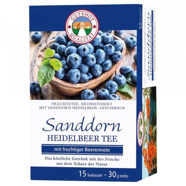 Avita Sanddorn Tee mit Heidelbeeren (15 Aufgussbeutel)