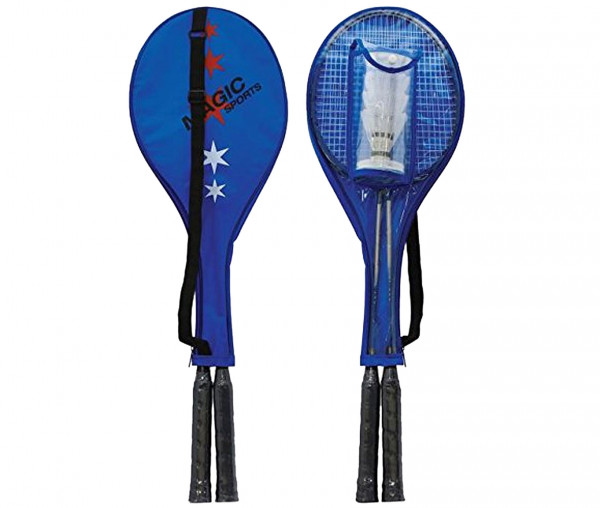 Magic Sports Federball/Badminton Schläger-Set