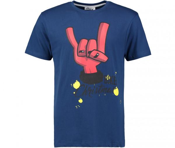Tony Brown Herren T-Shirt mit Weihnachtsmotiv