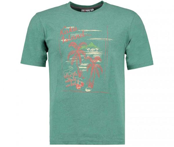Tony Brown Herren T-Shirt Kaku Island