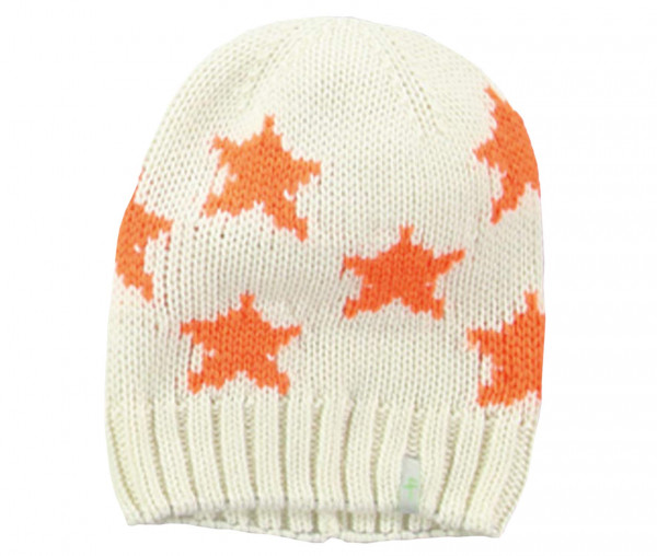 four [ti] four Strickmütze - Little Stars orange