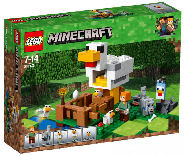 21140 LEGO® Minecraft™ Hühnerstall