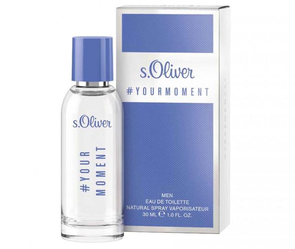 s.Oliver Herren Parfum #yourmoment edT