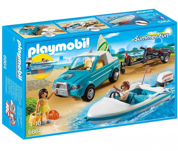 Playmobil - Surfer Pick-UP mit Boot 6864