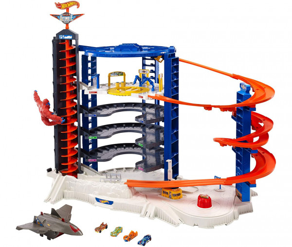 MATTEL Hot Wheels Super Megacity Parkgarage