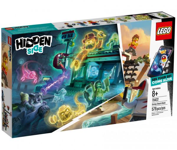 70422 LEGO® Hidden Side™ Angriff auf die Garnelenhütte