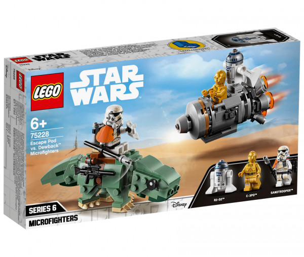 75228 LEGO® Star Wars™ Escape Pod vs. Dewback™ Microfighters