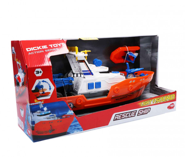 Dickie Toys Rettungsschiff Rescue