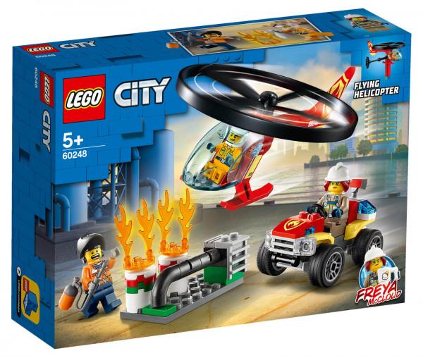 60248 LEGO® City Einsatz mit dem Feuerwehrhubschrauber