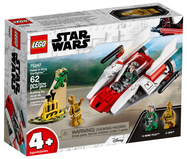 75247 LEGO® Star Wars™ Rebel A-Wing Starfighter™
