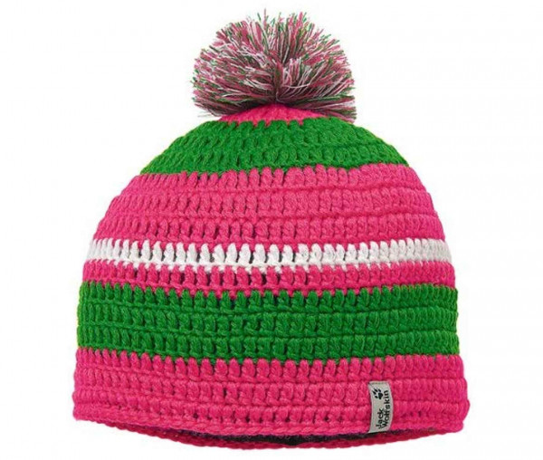 Jack Wolfskin Crochet Cap Bommelmütze