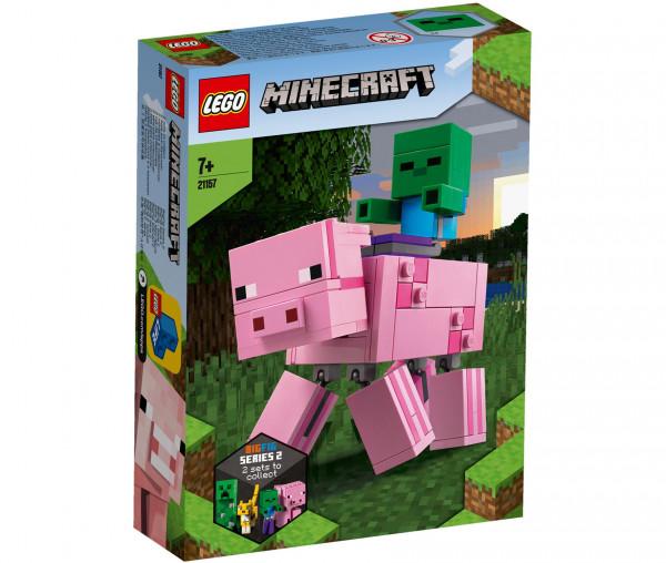 21157 LEGO® Minecraft™ BigFig Schwein mit Zombiebaby