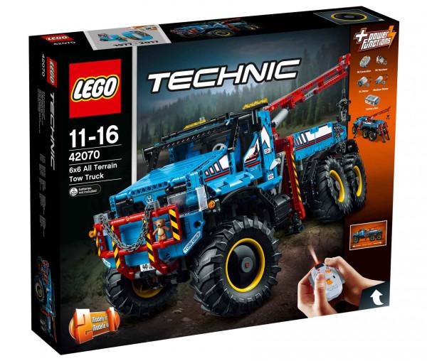 42070 LEGO® Technic Allrad-Abschleppwagen