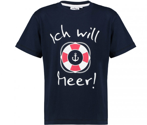 Paul Brown Jungen T-Shirt Ich will Meer