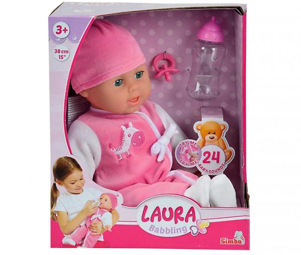 Simba Puppe LAURA Cutie 38cm