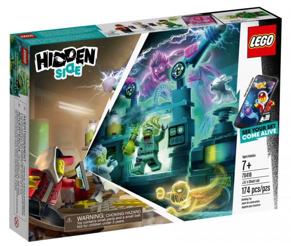70418 LEGO® Hidden Side™ J.B.´s Geisterlabor