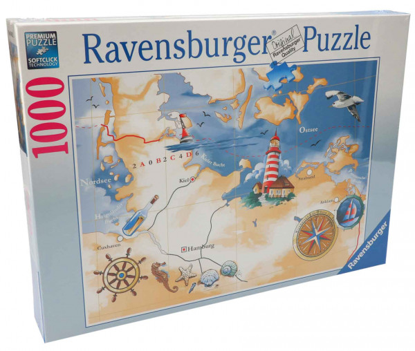 Ravensburger Puzzle Nord- & Ostsee