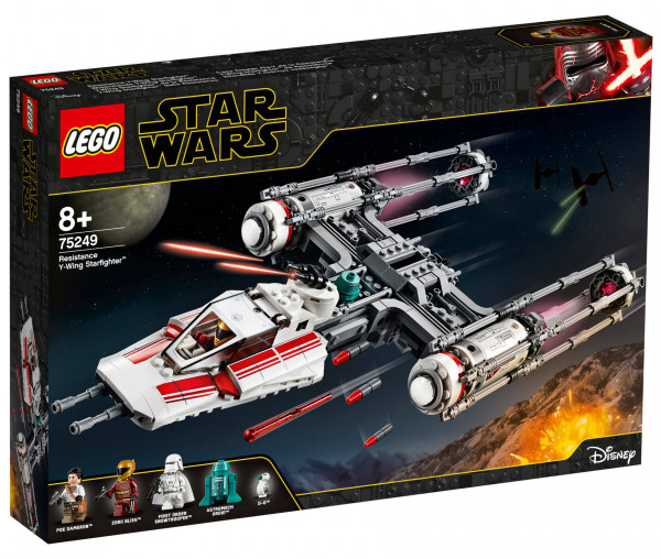 75249 LEGO® Star Wars™ Widerstands Y-Wing Starfighter™