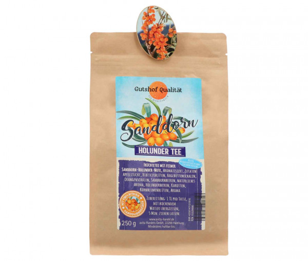 Avita Sanddorn Tee mit Holunderbeeren