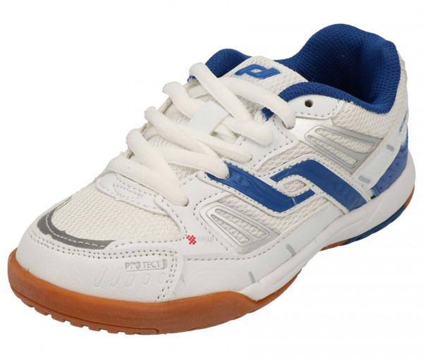 Pro Touch Kinder Indoor Schuh REBEL II weiß/blau