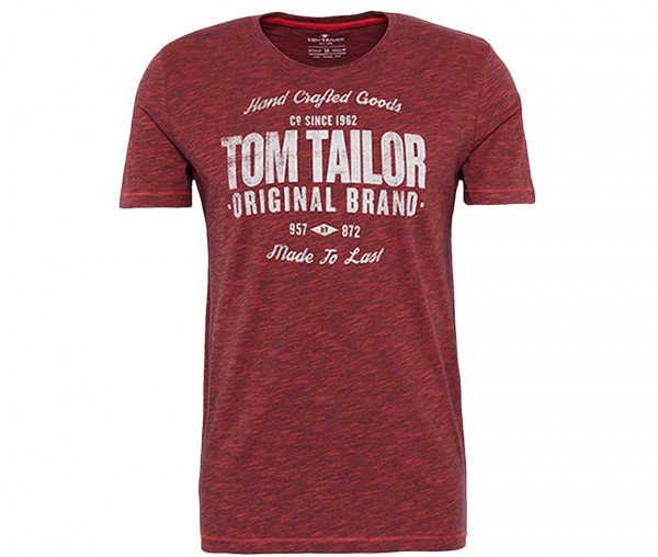 Tom Tailor Herren rundhalsausschnitt T-Shirt mit Print