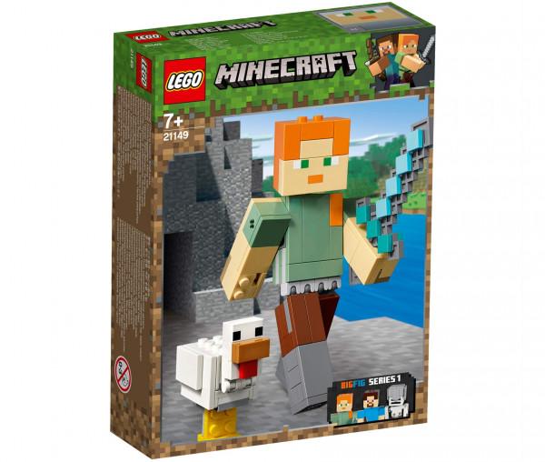 21149 LEGO® Minecraft™ BigFig Alex mit Huhn