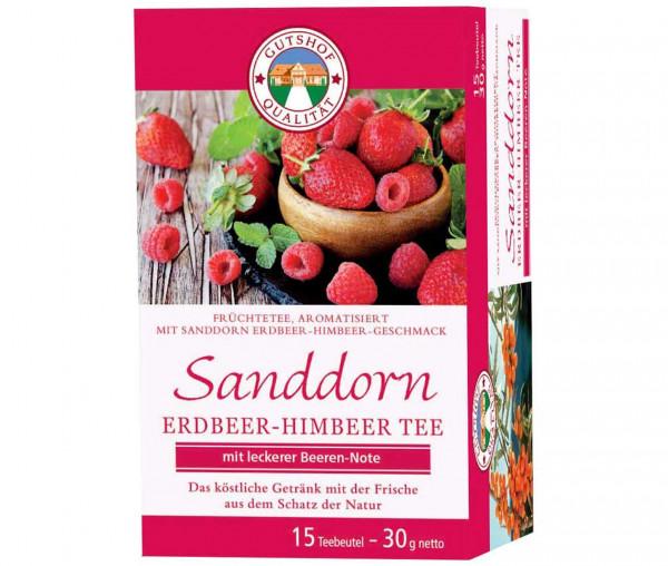 Avita Sanddorn Tee Erdbeer-Himbeer (Aufgussbeutel)
