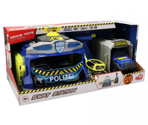 Dickie Toys SWAT Station