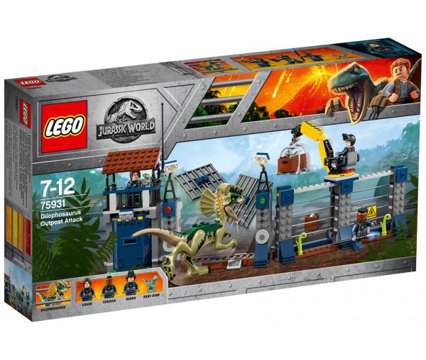 75931 LEGO® Jurassic World™ Angriff des Dilophosaurus