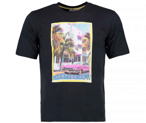 Tony Brown Herren T-Shirt Miami Glow
