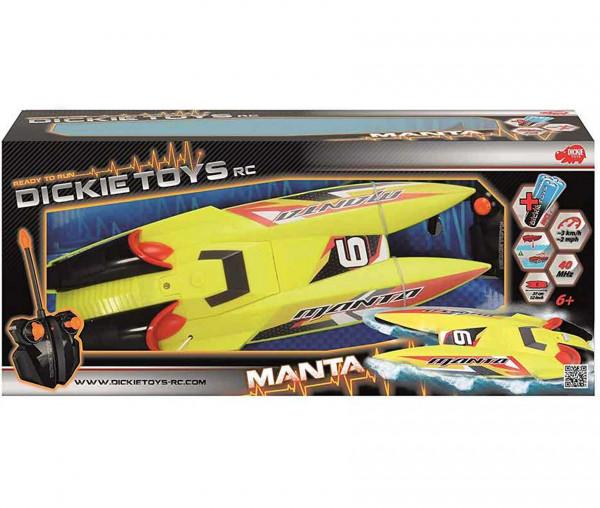 Dickie RC Manta funkferngesteuertes Motorboot