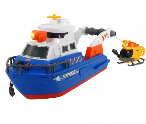 Dickie Toys Action Series Explorer Boat