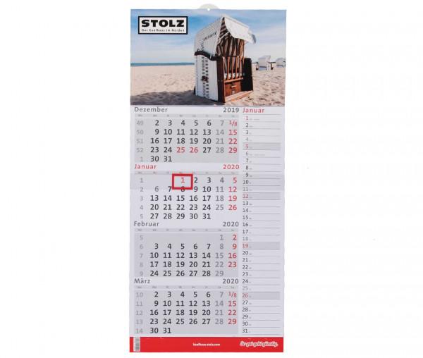 Kaufhaus Stolz 4-Monatskalender