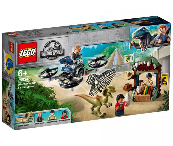 75934 LEGO® Jurassic World™ Dilophosaurus auf der Flucht